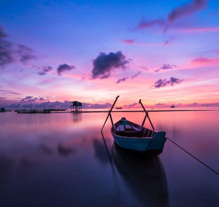 sunrise phu quoc island ocean