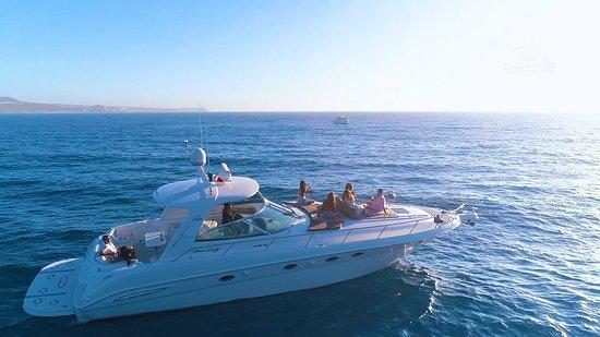 luxury sailing boating